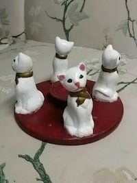 Hand Painted Cat Candle Holder  Barrie, L4N 5B1
