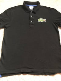 Men's black Lacoste big gator polo size M Baltimore, 21221
