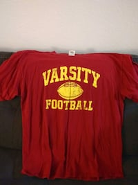 Varsity Football T-SHIRT Size XL