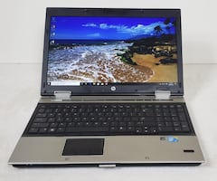 Super fast HP EliteBook 8540p i7 processor