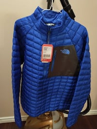 Northface thermal pullover men's large