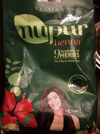 100% natural henna with 9 herbs 400g