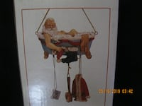 NEW in PKG - CUTE HOSTESS GIFT * Very Detailed * Santa after a Hard Nights Work Hamilton