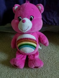 Vintage pink care bear its name cheer bear