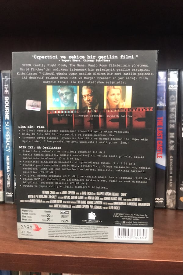 Se7en Film Box Set 2