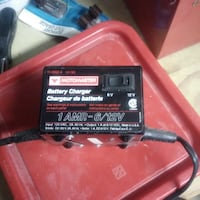 Battery Charger - Never Used Motomaster 1AMP - 6/12V VANCOUVER