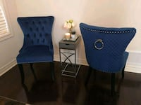 2 Royal Blue New Accent chairs.  Whitchurch-Stouffville, L4A 7X3