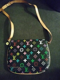 Black multicolored Louis bag