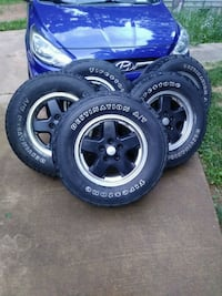 Jeep wheels/tires set of 5