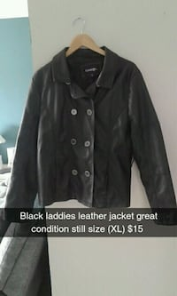 black button-up jacket Edmonton, T5T 3Z4