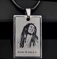 Bob Marley Stainless Steel Pendent Necklaces