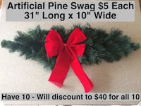 Artificial Pine Swags Fort Lee, 07024