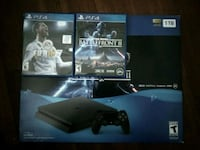 Sony PS4 console with controller and game cases Silver Spring