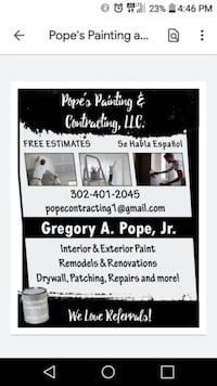 Interior painting Dover