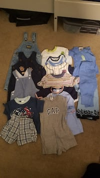 Baby clothes 3 to 6 months