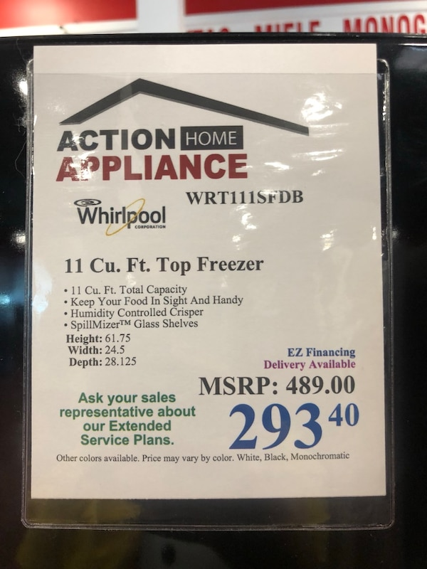 Perfect Whirlpool Refrigerator for Garage or Small Apartment 71c192ca-69f8-47a6-b4ba-1f7fe7ddb53a