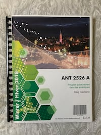 ANT 2526 Coursepack