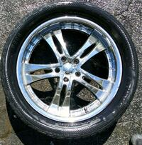 4 set 20 inch wheels and tires 509 mi