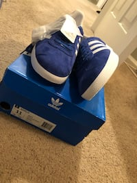 Brand New Never been worn Size 11 Adidas Gazelle Nephew already had a pair! Springfield, 22152