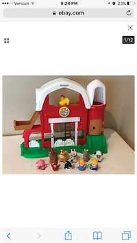 Fischer Price Little People Farm & Airplane Greer, 29651
