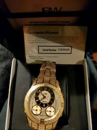 JBW JET SETTER 3 MEN'S WATCH... 80 BUCKS. NEW CONDITION AND PKG
