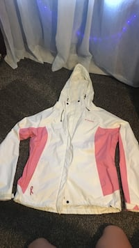 white and pink zip-up jacket Perrysville, 44864