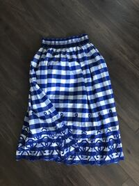 Zara long checkered skirt Toronto, M4V