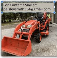 2011 TRACTOR KUBOTA BX25 23HP D, FRONT LOADER & MOWER AND BACKHOE!!!!
