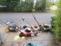 5 mowers and one weedwacker. Some run some dont Springfield, 97477