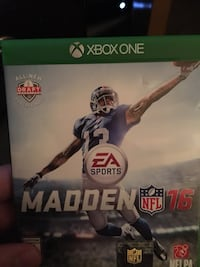 Xbox One Madden NFL 16 Middletown, 45044