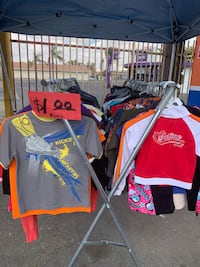 Kids and men's shirts $1.00 Bakersfield, 93304
