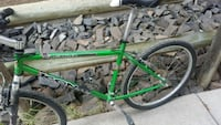 green and black hardtail mountain bike Canmore, T1W 1N6