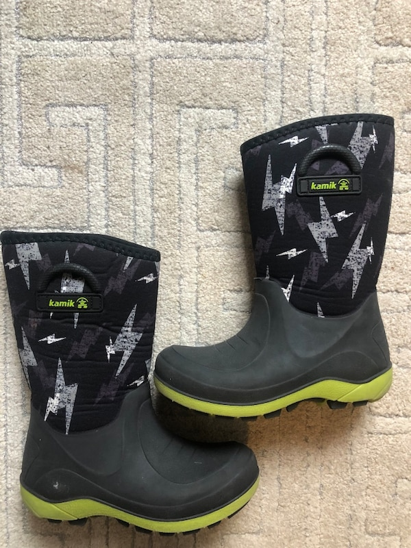 8c3f9ea34b95 Used Kamik kids winter boots size 1. Great condition.  20 for sale in New  York - letgo