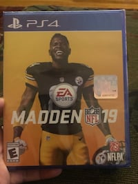 Brand New PS4 Madden 19 Silver Spring, 20902