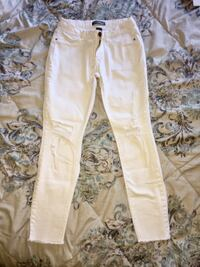 White jeans (size 3)