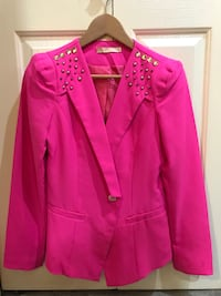 pink notch lapel suit jacket Burnaby, V3N 2S4