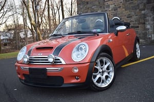 2006 Mini Cooper S Convertible 84,000 Miles Clean Title