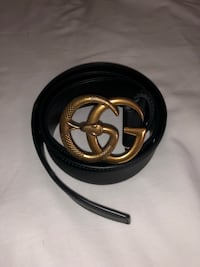 Gucci Leather Belt Black  Burnaby, V5B