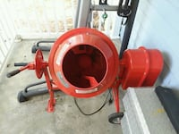 1.25 cement mixer. Works good, 120v electric. King George, 22485