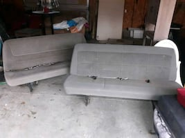 Two back bench seats for ford e 350 super duty van