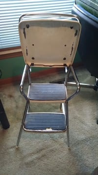 Chair with step stool antique Norfolk, 23518