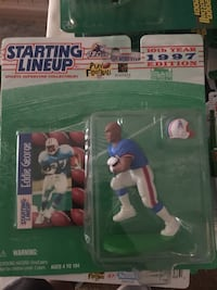 1997 Starting Lineup Eddie George figurine and trading card with pack Port Orange, 32128