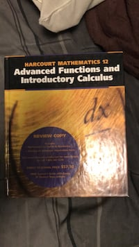 Grade 12 Functions and Calculus text book Lincoln, L0R