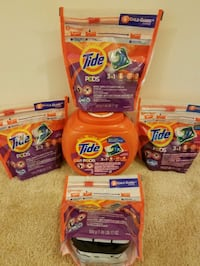 Tide laundry detergent bundle- $30 price firm  Rockville