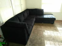 Brand new large sectional with large chase