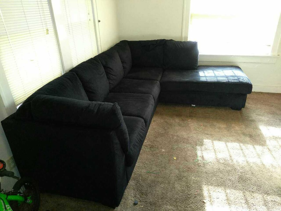 Brand new large sectional with large chase - Mettler