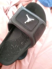 black and gray Air Jordan shoe Elkridge, 21075
