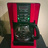 Red 12 Cup Digital Coffee Pot Charles Town, 25414