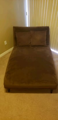 Brown Chaise Lounge