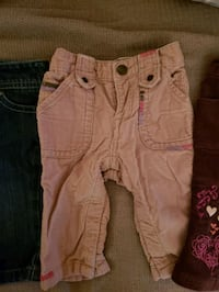 women's two pink and black shorts Springfield, 22152